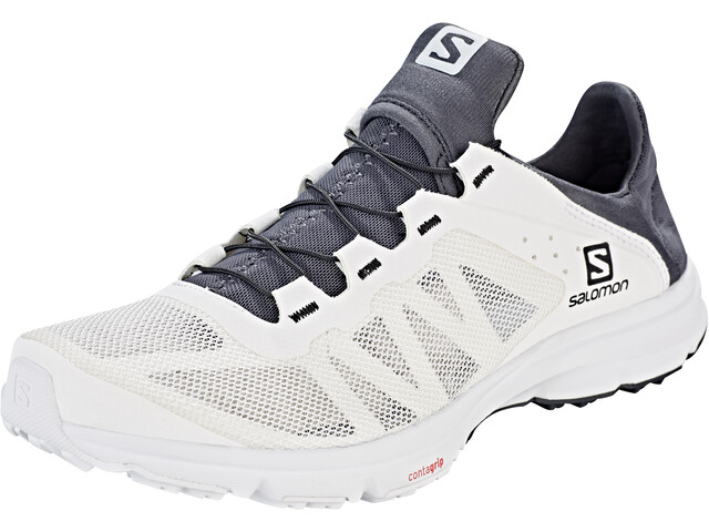 Salomon Amphib Bold Shoes Dame white/white/ebony